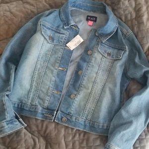 BNWT Children's Place denim jacket